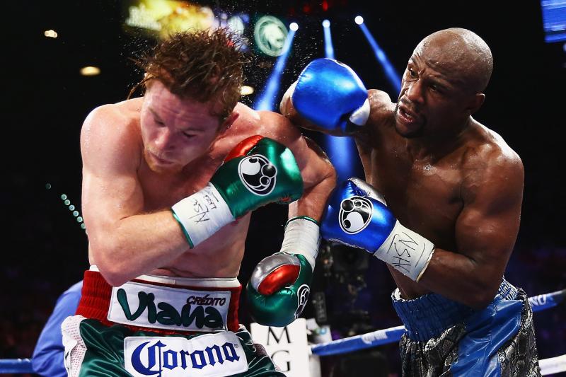 Floyd Mayweather vs. Canelo Alvarez Rematch 'Impossible,' Says Oscar De La Hoya