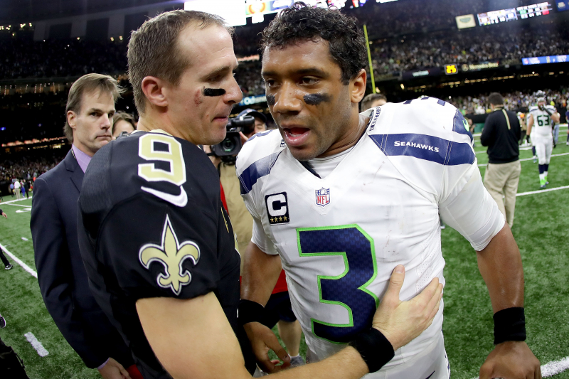 Russell Wilson Gives Drew Brees His Starting Spot in 2020 NFL Pro Bowl