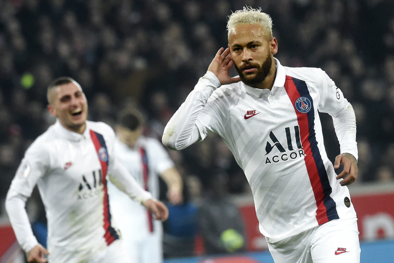 Neymar's Brace Leads PSG to 2-0 Win over Lille in Ligue 1