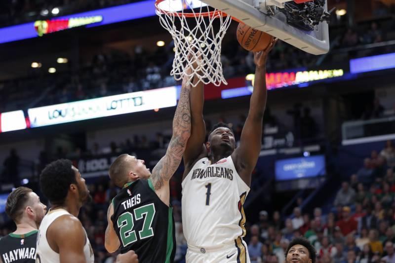 爆炸運動力!狀元郎Zion砍21分11板迎生涯首勝,還搶下了7記前場籃板!(影)