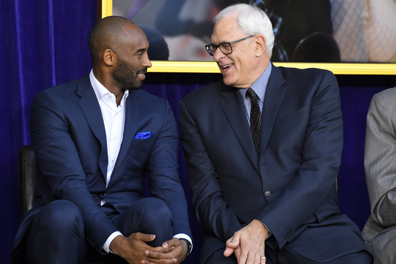 Phil Jackson Reflects on Kobe Bryant After His Death: 'Kobe Was a Chosen One'