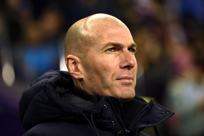 Zinedine Zidane Says 'Nothing Changes' After Real Madrid Move Top of La Liga
