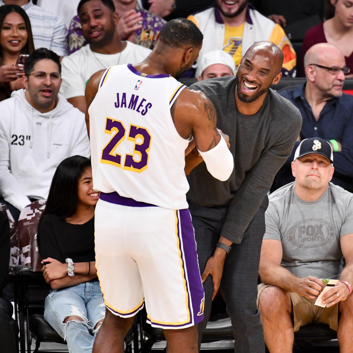 LeBron James on Kobe Bryant's Death: 'I Promise You I'll Continue Your  Legacy'   Bleacher Report   Latest News, Videos and Highlights