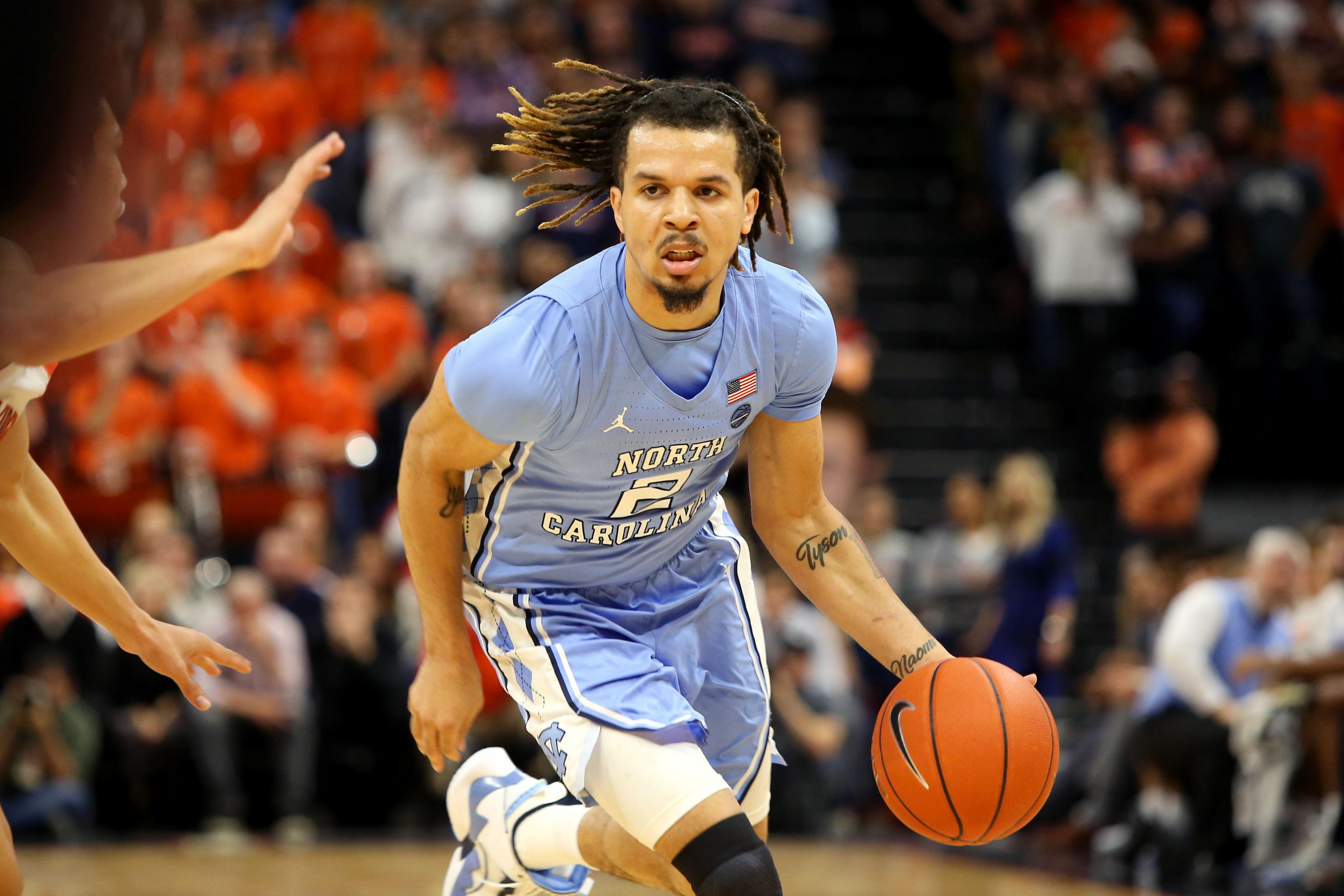 cole anthony unc jersey