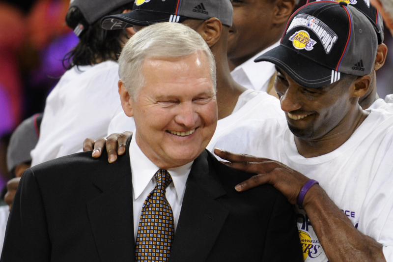 Jerry West Says He Told Kobe Bryant Not to Join Clippers Under Any Circumstances