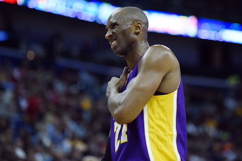 'It's Sick. It's Disgusting': The Legend of Kobe Bryant's Intense Pain Tolerance