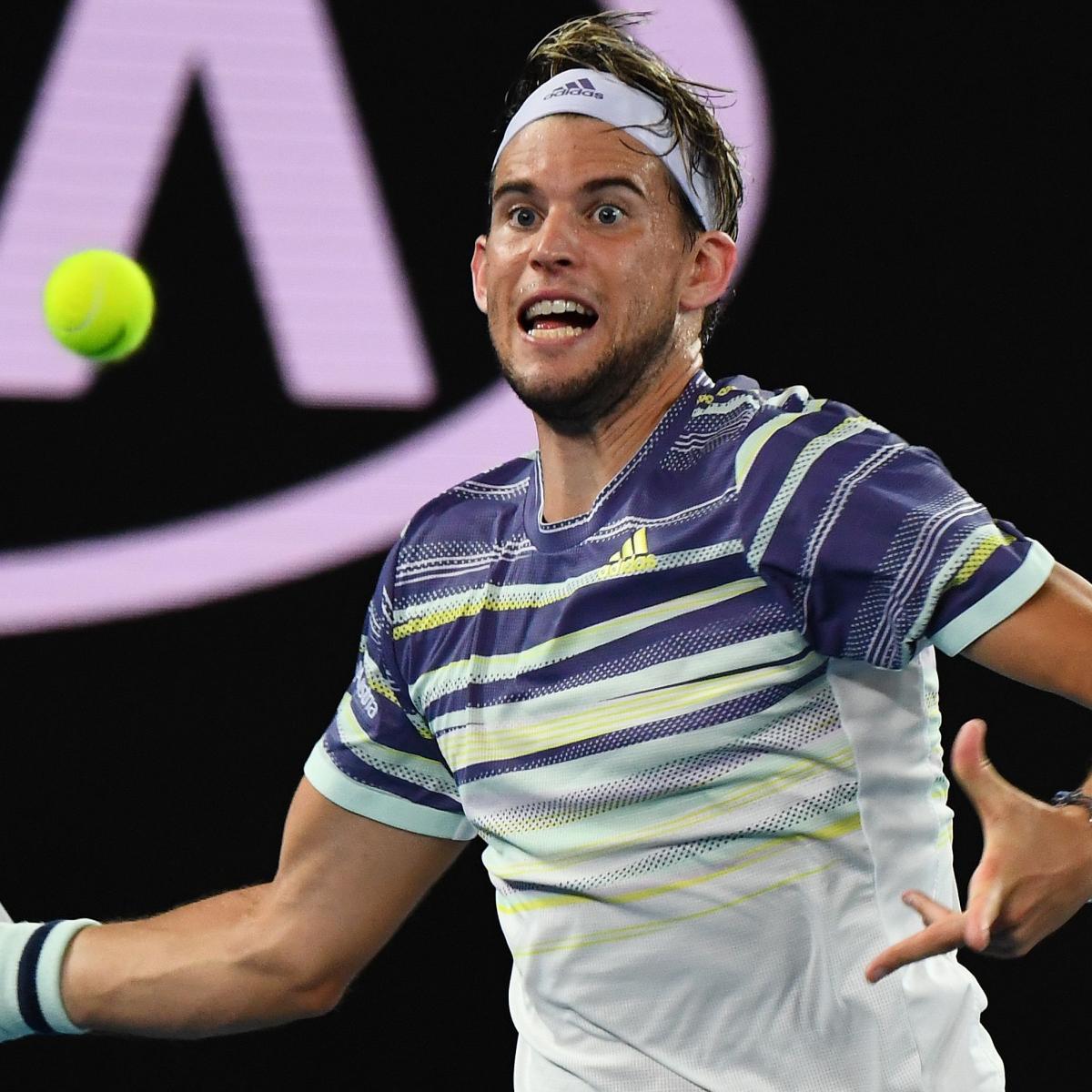 Dominic Thiem Upsets Rafael Nadal in 2020 Australian Open Quarter-Finals | Bleacher Report | Latest News, Videos and Highlights
