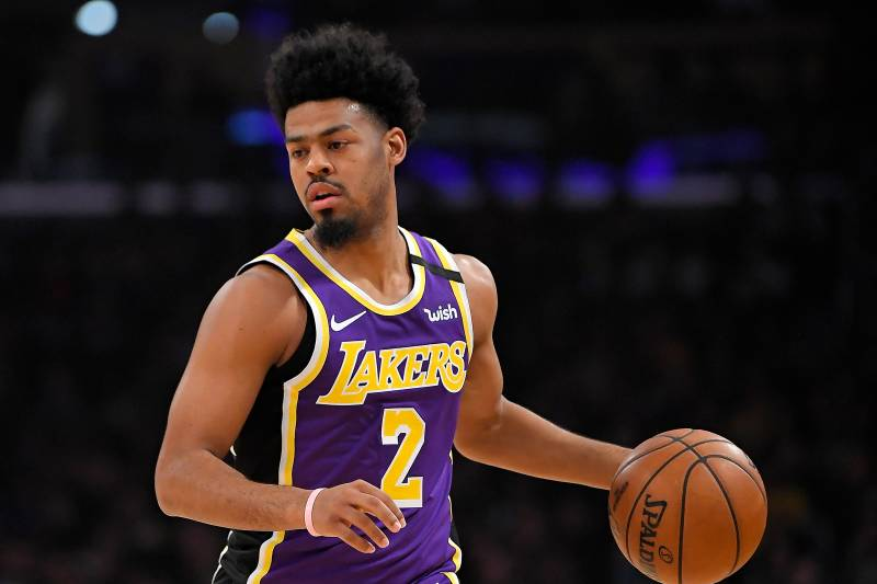 Image result for quinn cook lakers""