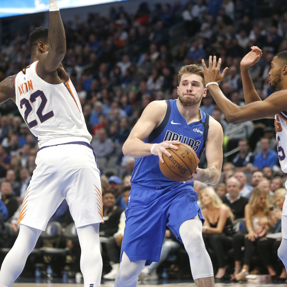 Luka Doncic Plans to Return from Ankle Injury for Kings vs. Mavs: 'I'm Ready'