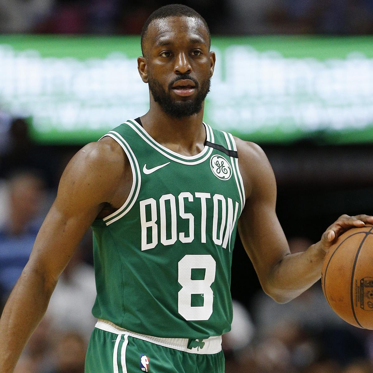Kemba Walker Ruled Out of Celtics vs. Timberwolves with Knee Injury