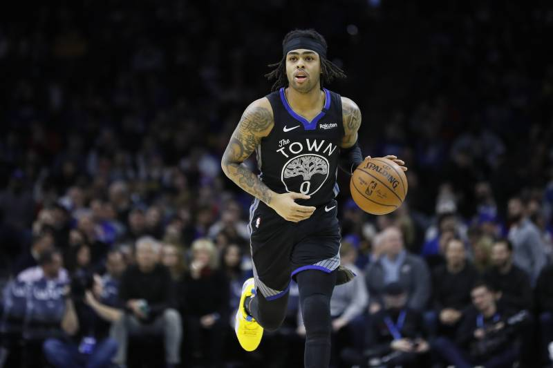 Image result for d'angelo russell twolves