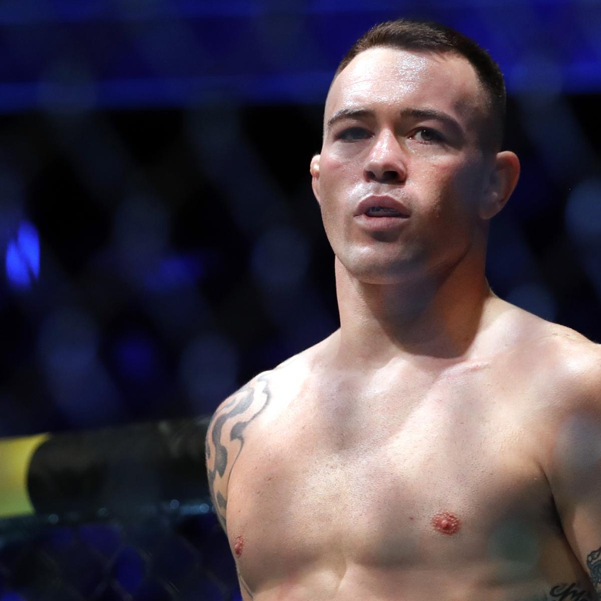 UFC's Colby Covington Challenges 50 Cent to Fight with Arm Tied Behind His Back