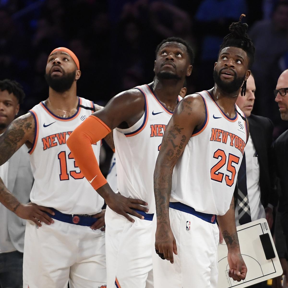 New York Knicks Suddenly NBA's Most Unpredictable Team at Trade Deadline