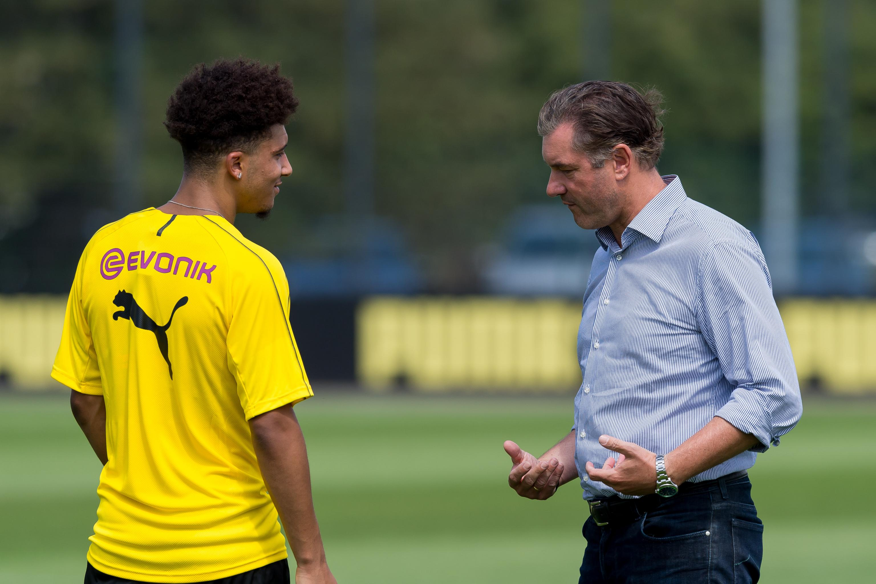Michael Zorc: No Jadon Sancho Bids Yet, Can't Guarantee Dortmund ...