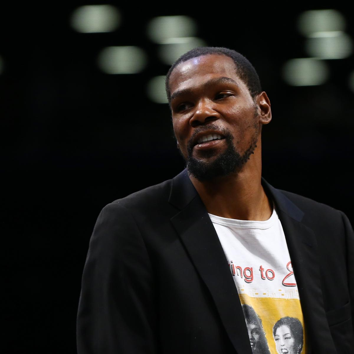 Kevin Durant Talks Joining Warriors, Kendrick Perkins Beef and More