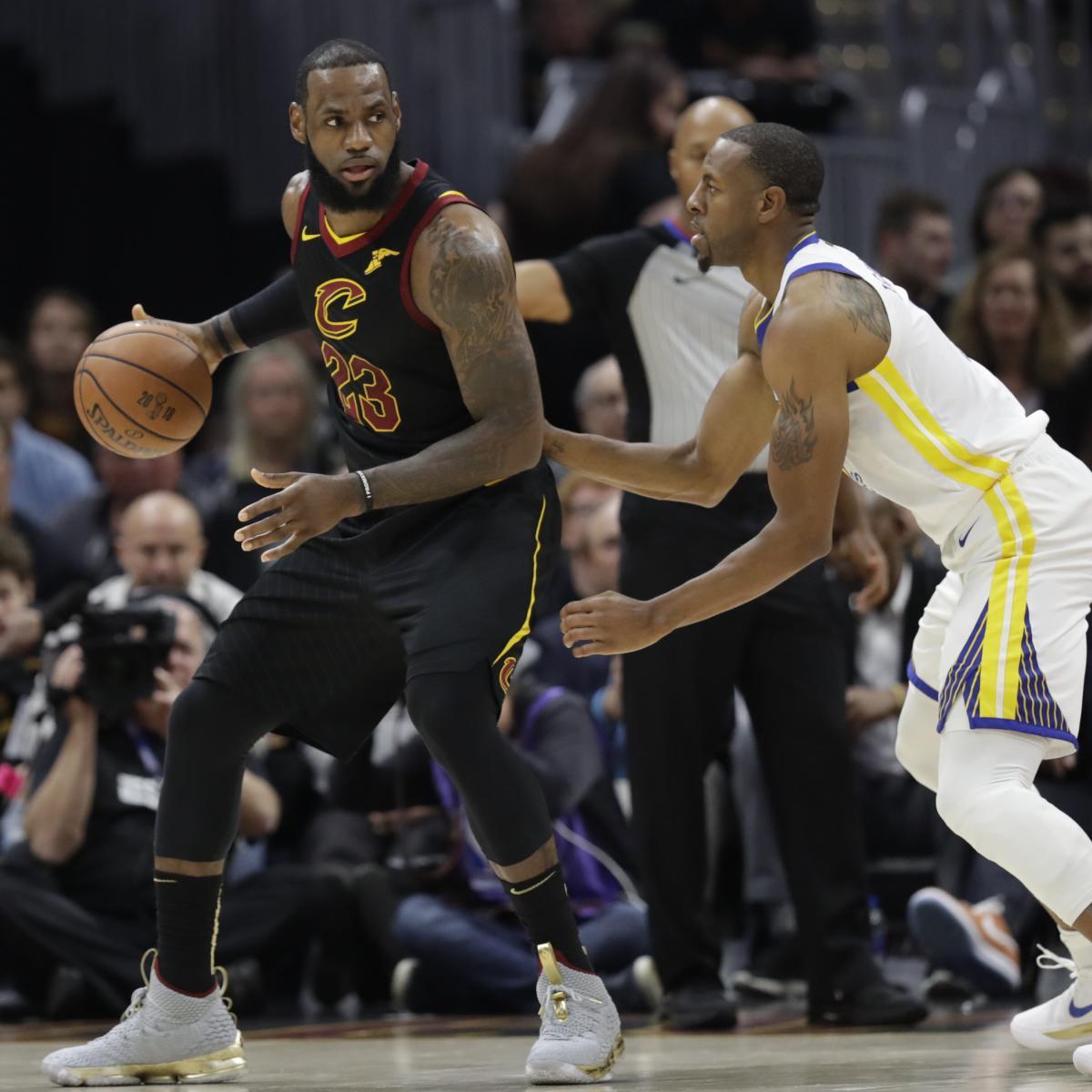 Lakers' LeBron James Says Andre Iguodala's 'Championship DNA' Makes Heat Better