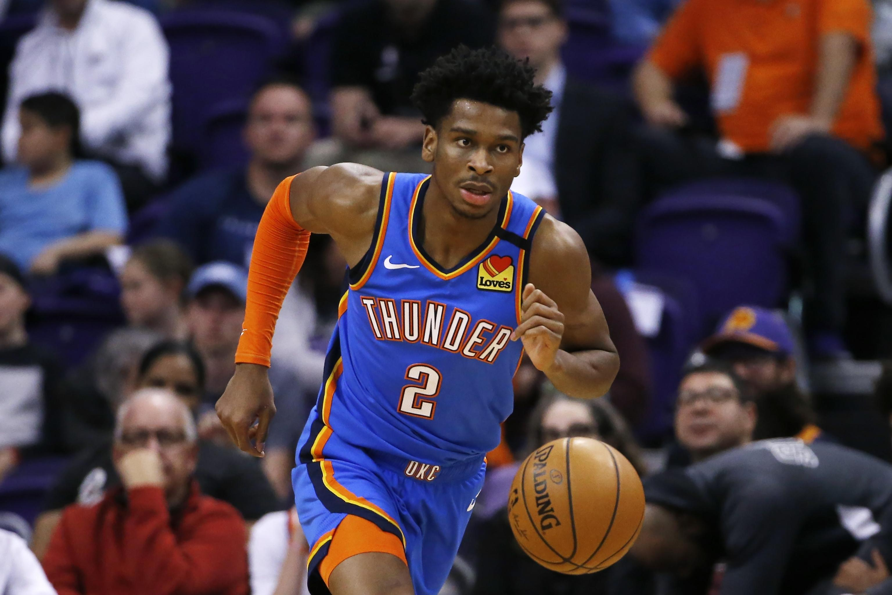 Shai Gilgeous-Alexander to Replace Derrick Rose in 2020 NBA Skills  Challenge | Bleacher Report | Latest News, Videos and Highlights