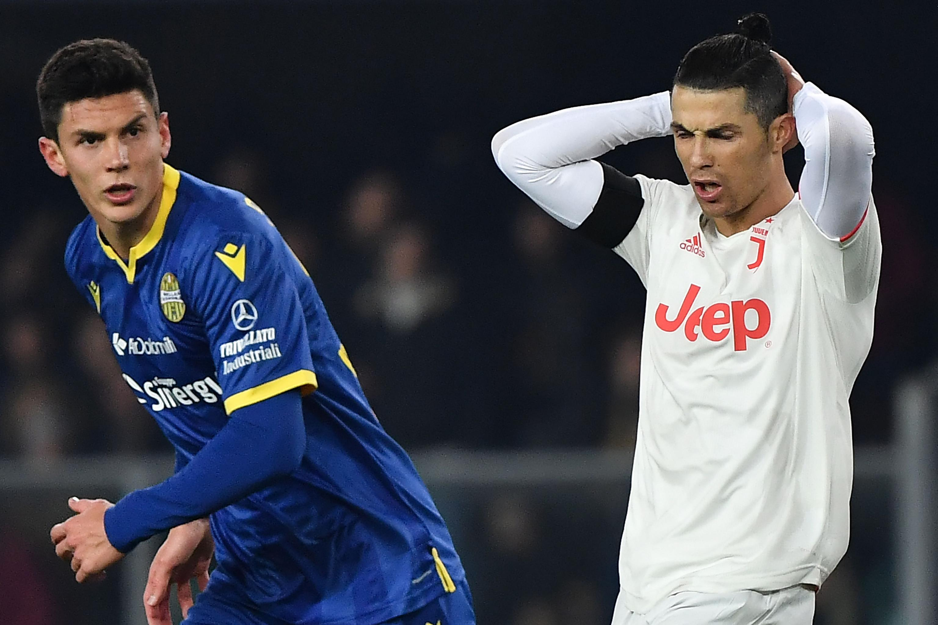 Cristiano Ronaldo Scores As Juventus Stunned By Hellas Verona In Serie A Bleacher Report Latest News Videos And Highlights