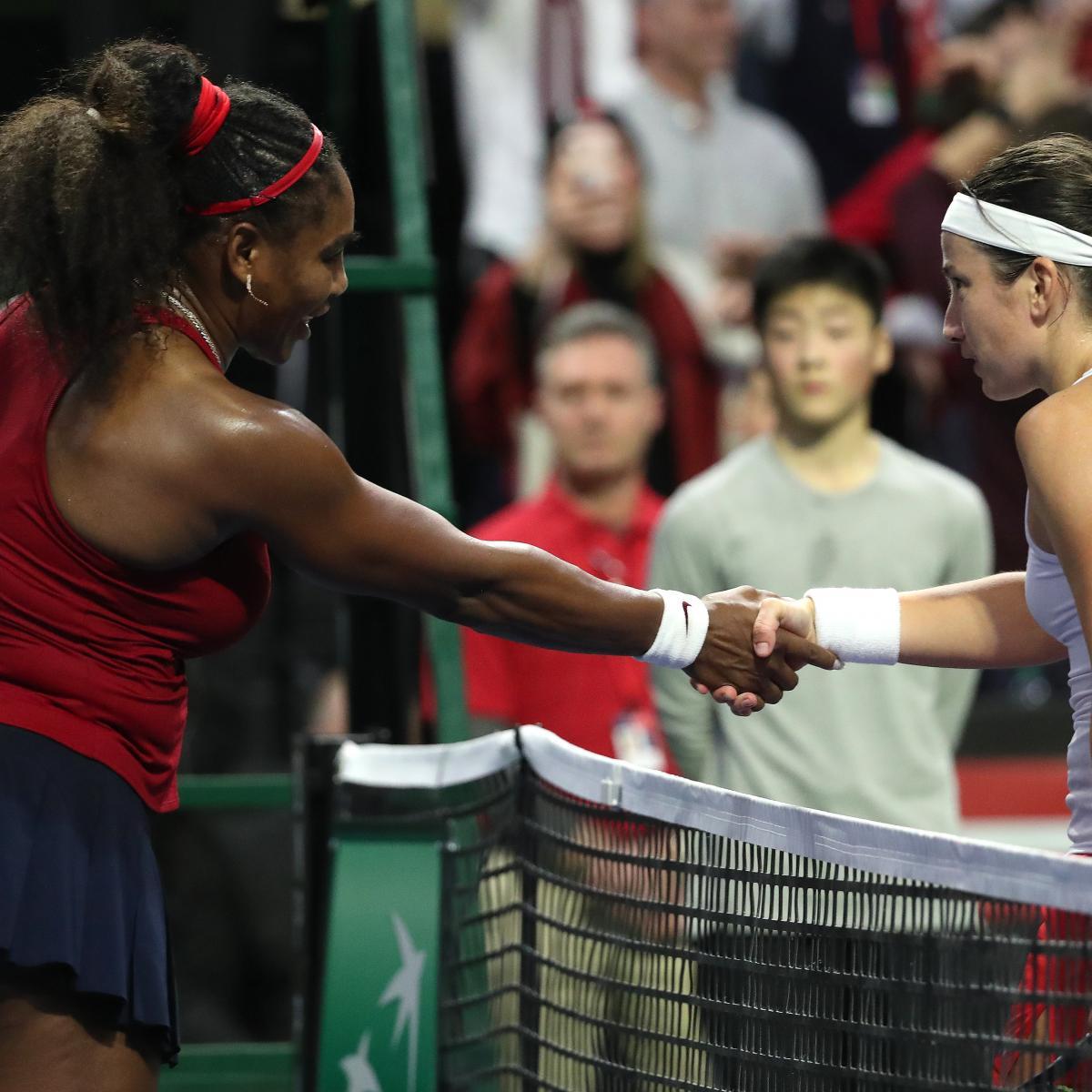 Serena Williams Upset by Anastasija Sevastova in 3-Set Fed Cup Thriller