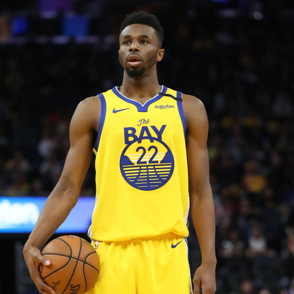 Andrew Wiggins Ruled Out for Warriors vs. Lakers Due to Back Injury