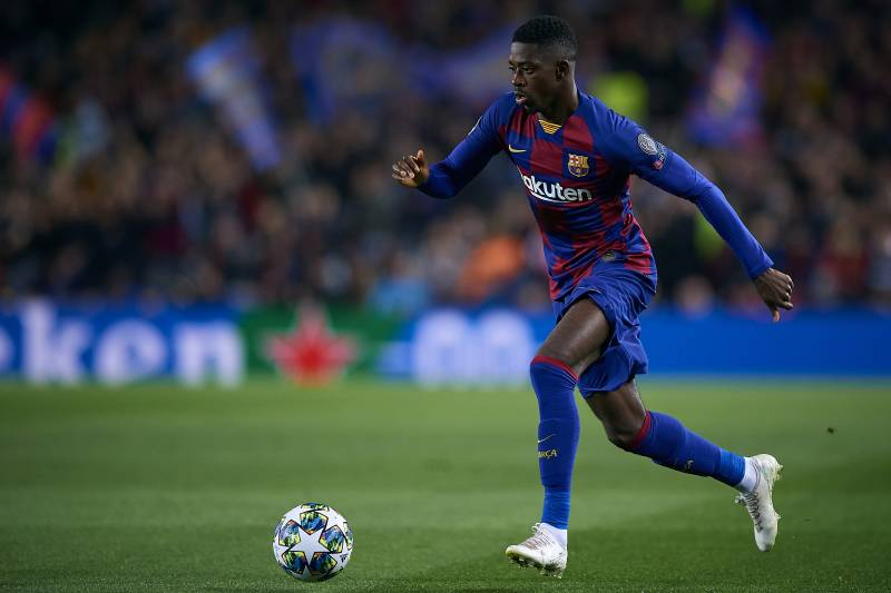 Barcelona's Ousmane Dembele Out 6 Months After Surgery on ...
