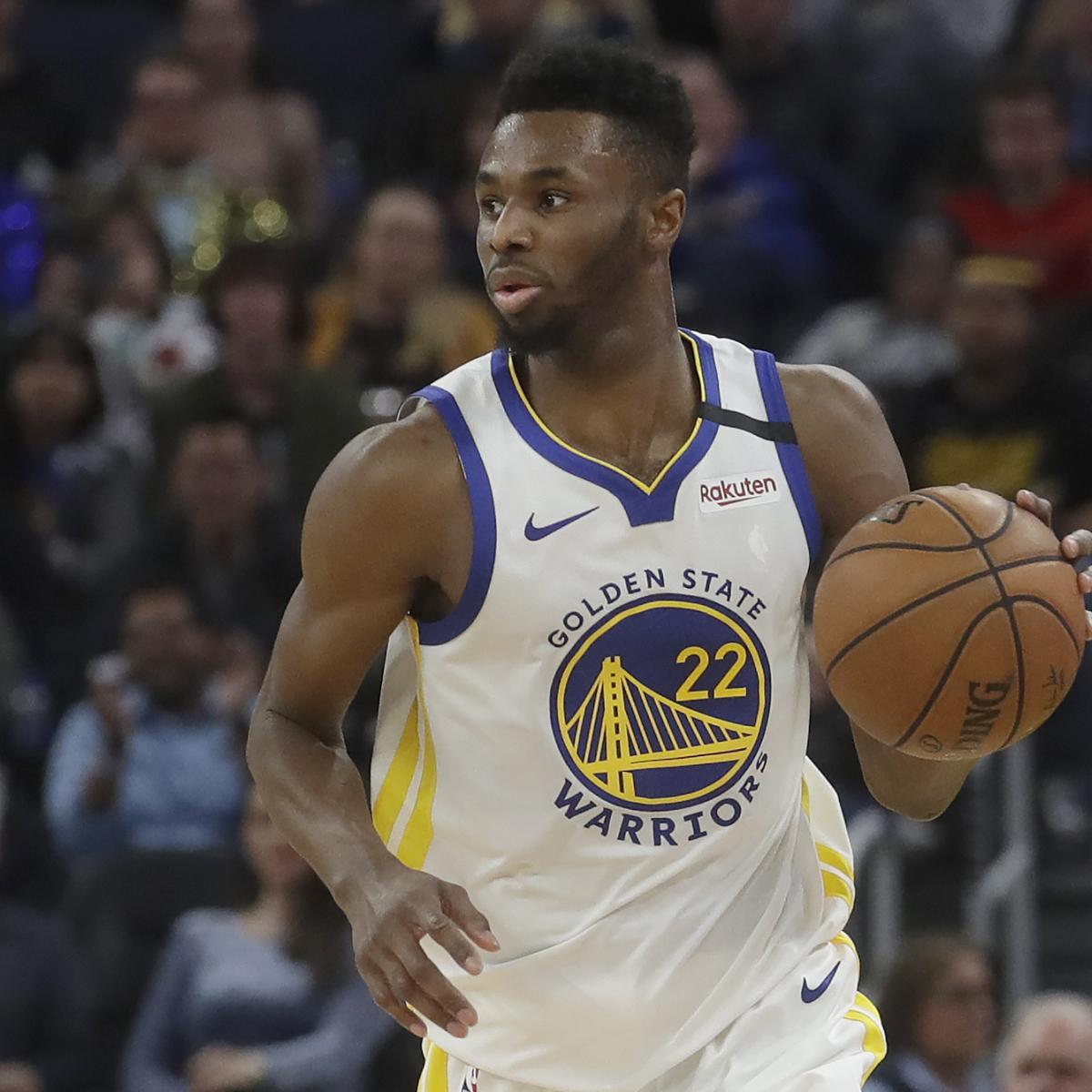 Warriors' Andrew Wiggins Dishes on Critics and 'Real Ballers' After Wolves Trade