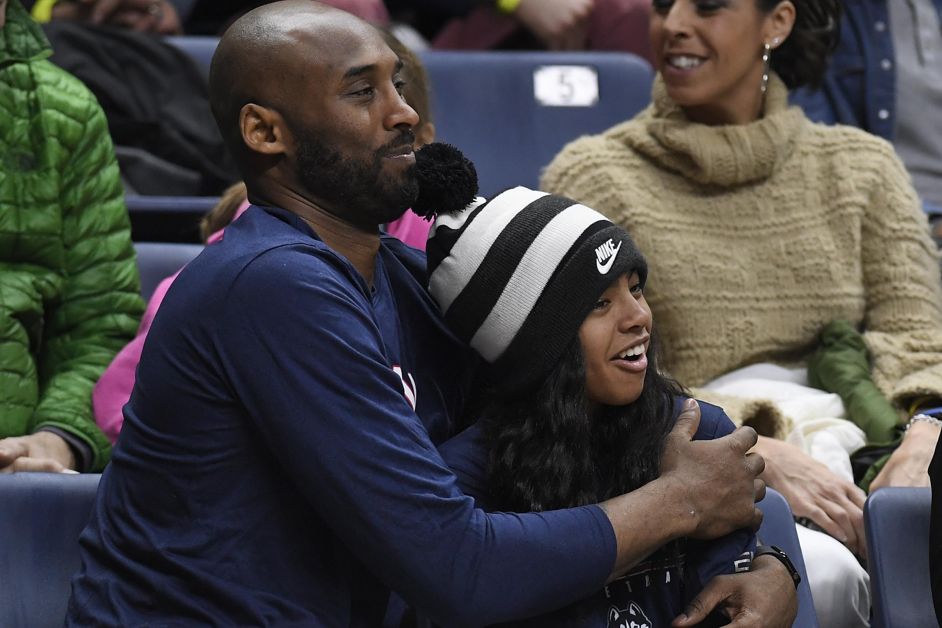 Image result for Basketball Star, Kobe Bryant, daughter buried in private funeral service
