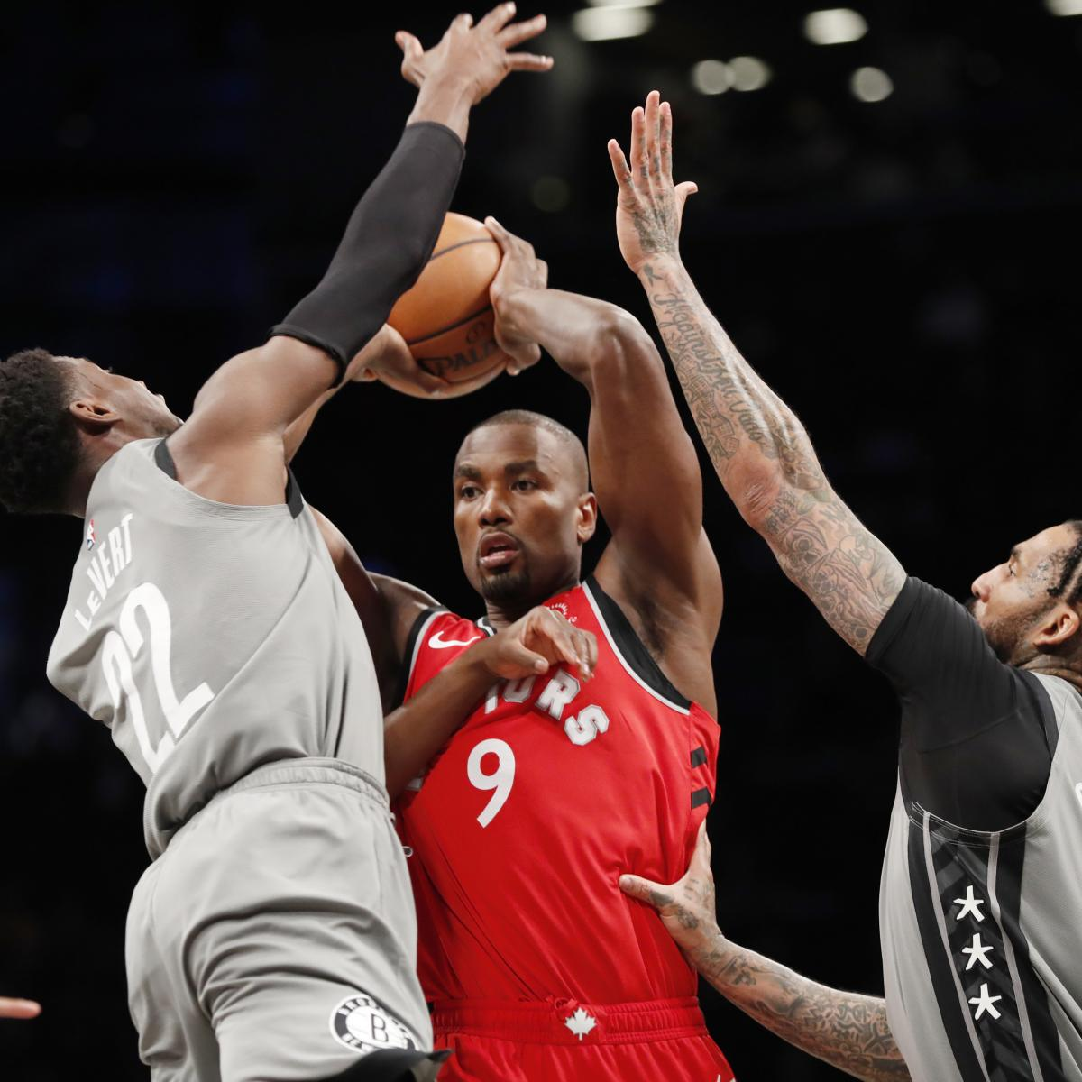 Raptors' 15-Game Win Streak Snapped by Spencer Dinwiddie, Nets