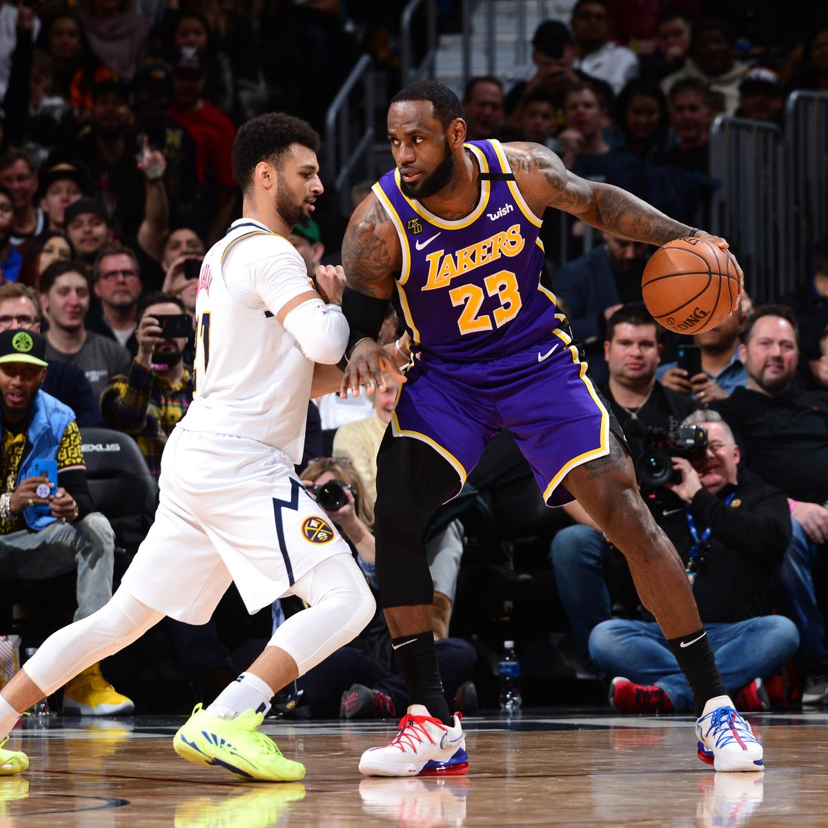 LeBron James' Brilliance Leads Lakers Past Jamal Murray, Nuggets