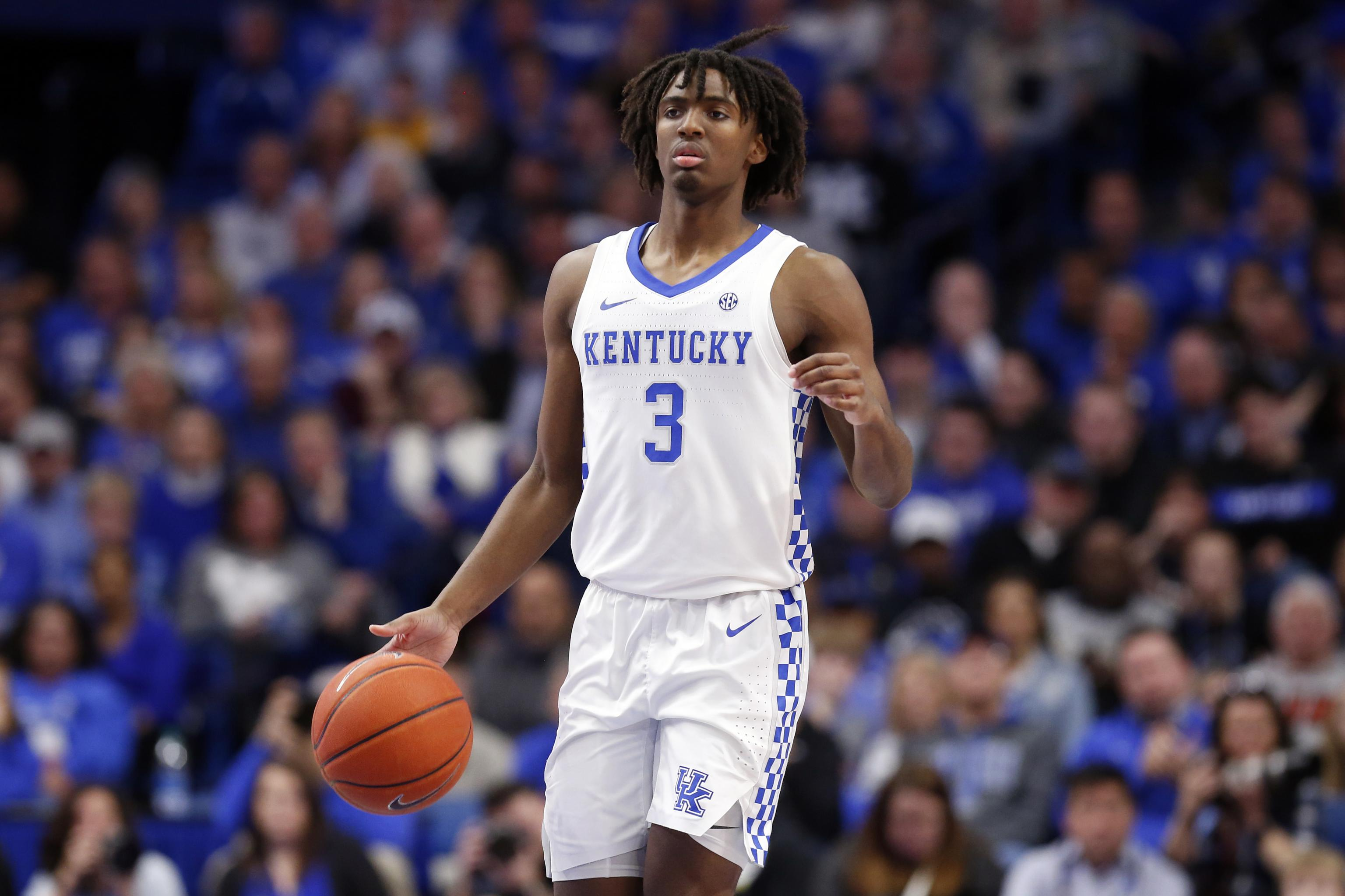 Kentucky's Tyrese Maxey Declares for 2020 NBA Draft | Bleacher ...