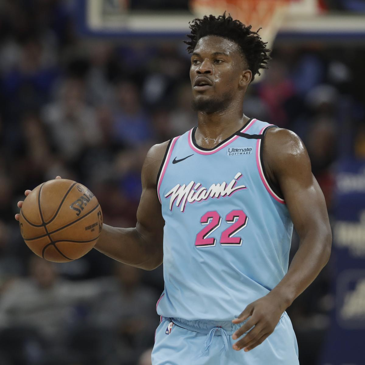 Jimmy Butler Says Heat Not Where They Want to Be, but 'It'll Happen'