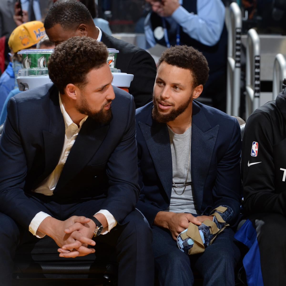 Warriors Hold NBA's Worst Record at All-Star Break Amid Steph, Klay Injuries