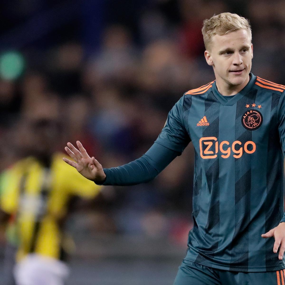 Donny van de Beek Plays Down Real Madrid Links: 'If It Happens, It Happens'