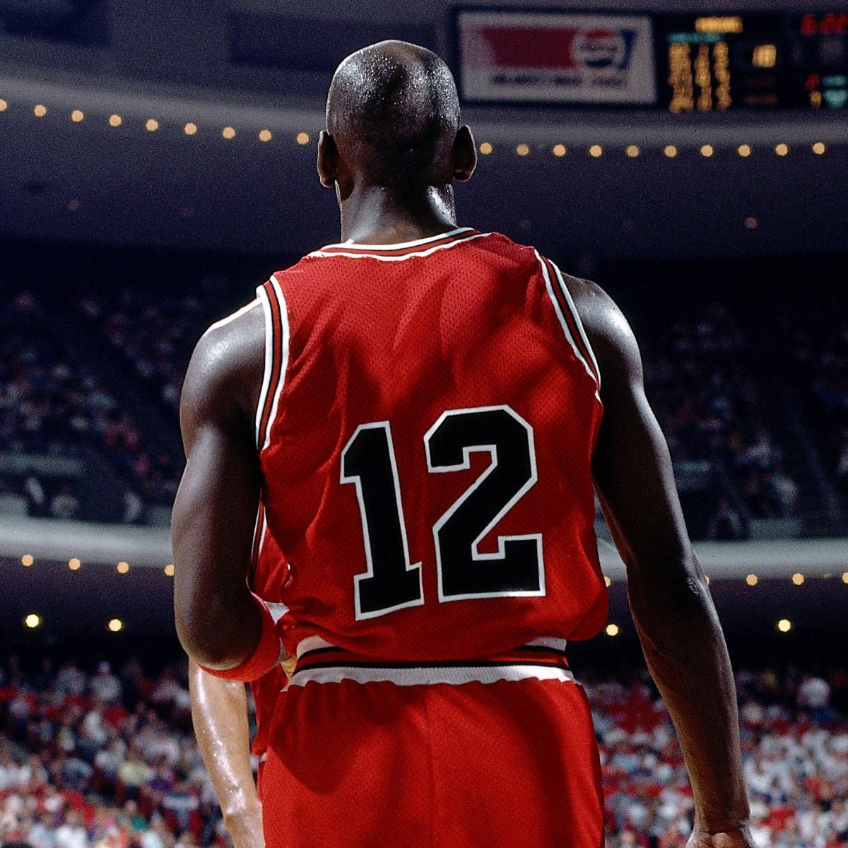 30 Years Ago Today Michael Jordan Switched His Classic No. 23 Jersey for No. 12