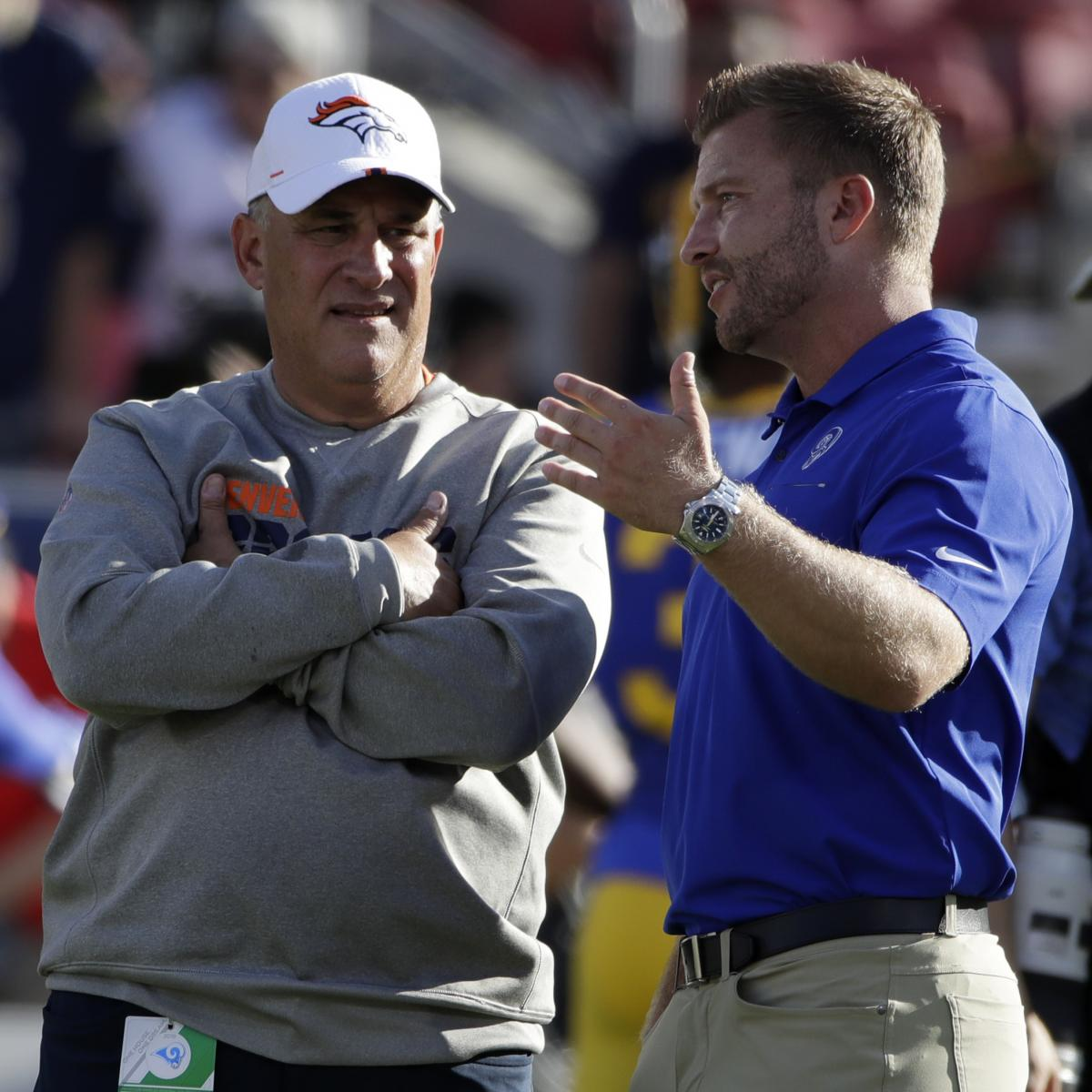 Rams, Broncos Reportedly Decide to Send Fewer Coaches to 2020 NFL Combine