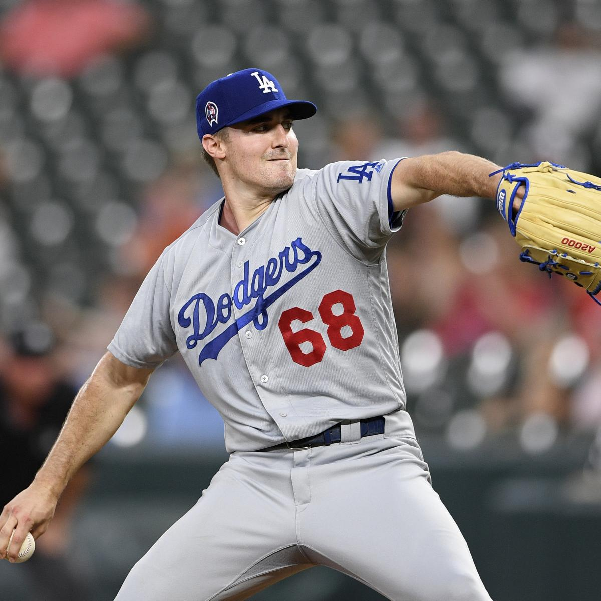 Dodgers P Ross Stripling Says He'd Intentionally Hit Astros Batters Amid Scandal