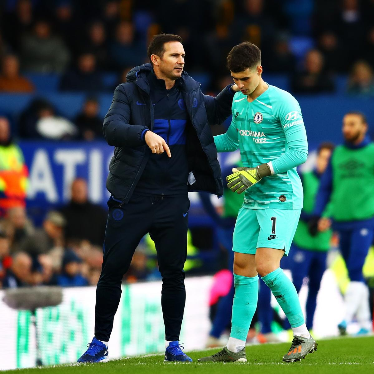 Chelsea Boss Frank Lampard on Decision to Drop Kepa: 'I Just Expect Reactions'