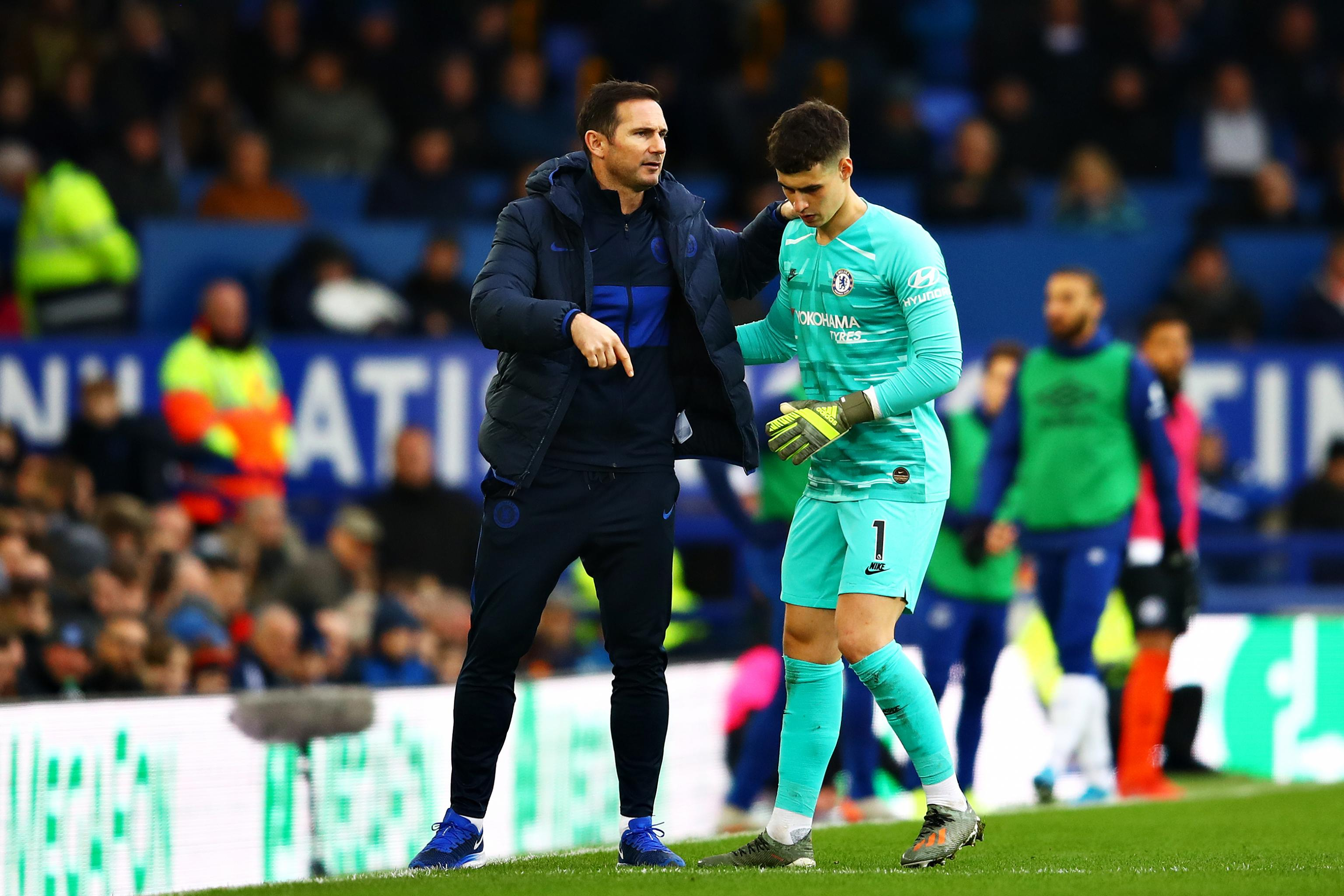 Chelsea Boss Frank Lampard on Decision to Drop Kepa: 'I Just ...