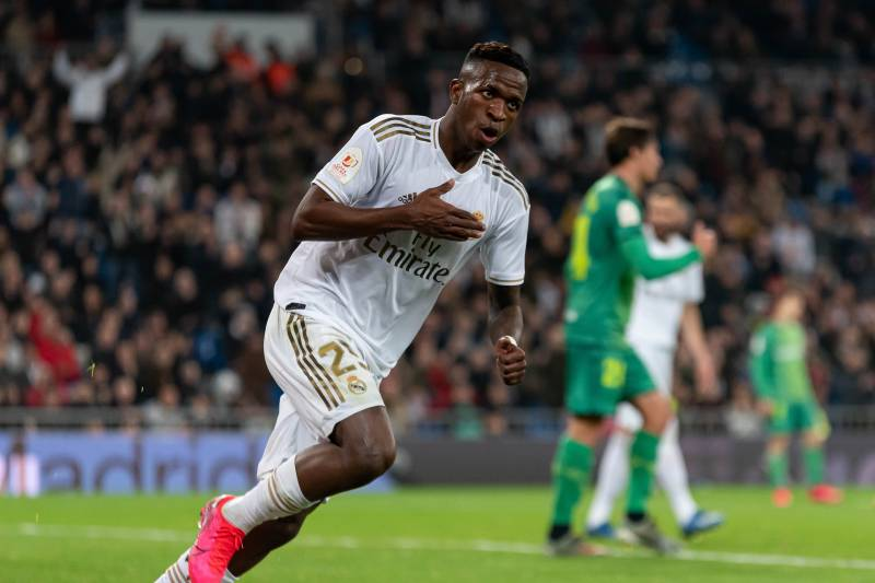 Real Madrid S Vinicius Jr Wants To Follow Raheem Sterling S