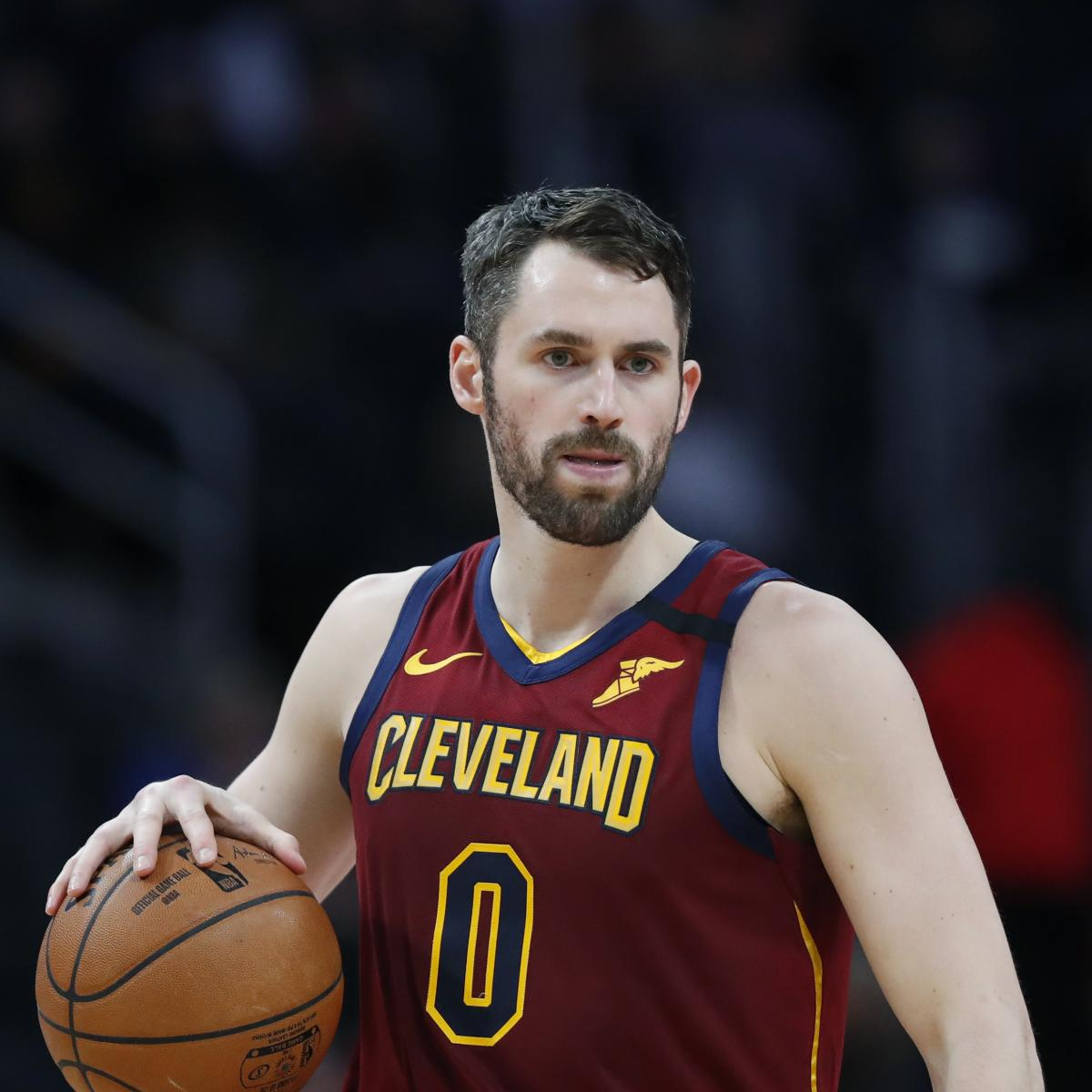 Kevin Love Ruled out for Cavaliers vs. Heat Due to Achilles Injury