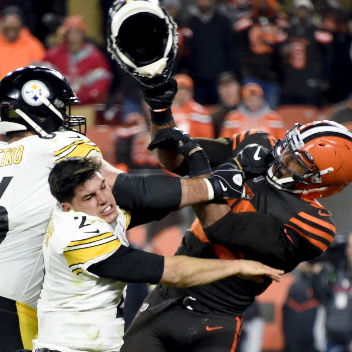 Mason Rudolph, Mike Tomlin Respond to Myles Garrett Saying Steelers QB Used Slur