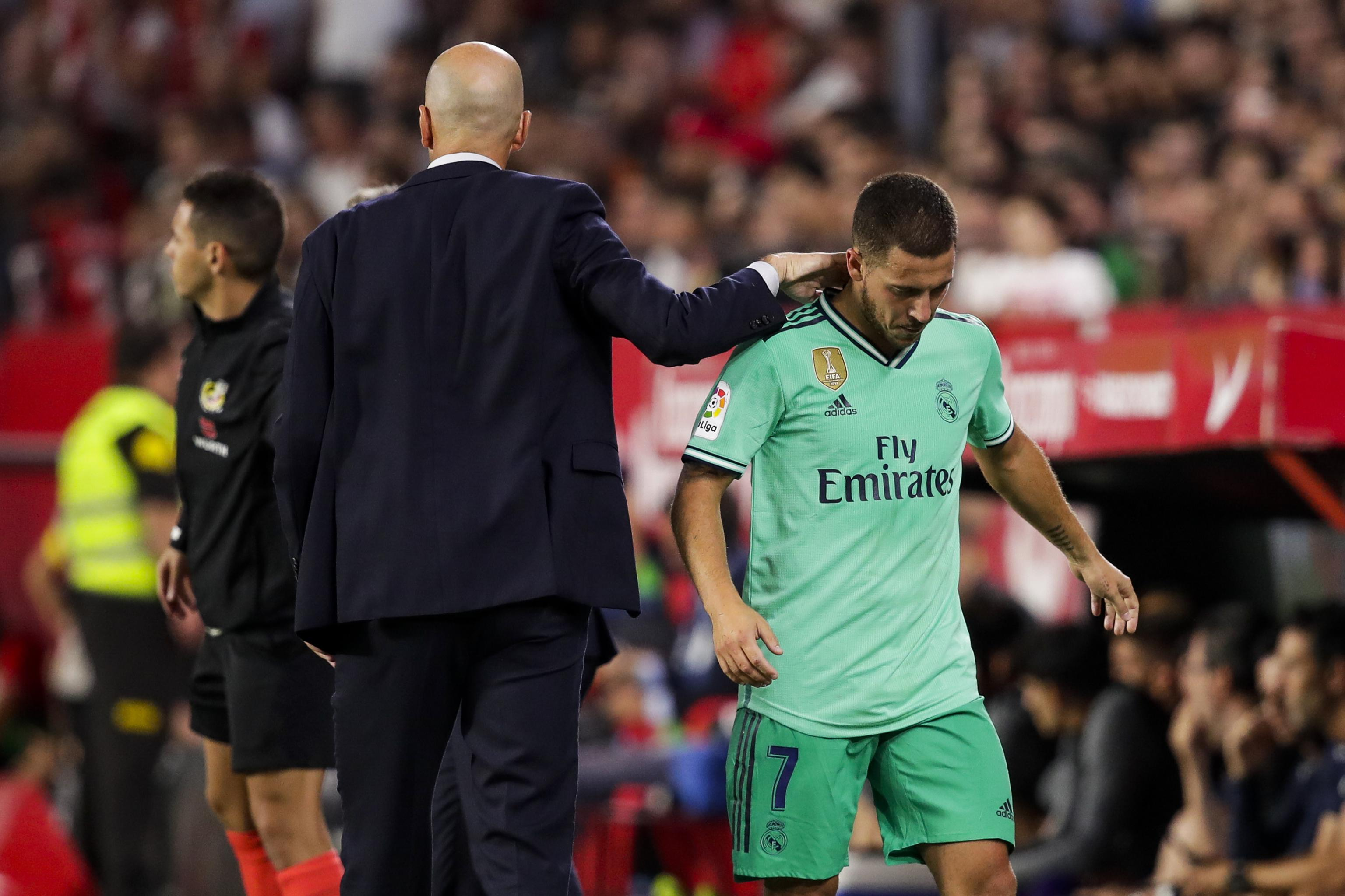Zinedine Zidane: Eden Hazard 'Ready to Play' for Real Madrid After Injury  Layoff | Bleacher Report | Latest News, Videos and Highlights