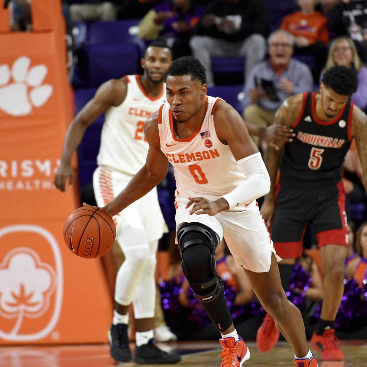 No. 5 Louisville Stunned by Unranked Clemson Following Georgia Tech Upset