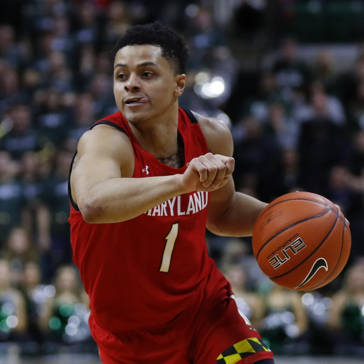 Anthony Cowan Leads Maryland Past MSU, Baylor Beats WVU, Top Highlights