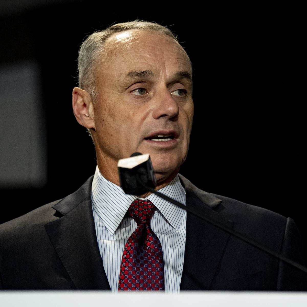 MLB Commish Manfred Explains Why Astros Players Weren't Punished for Cheating