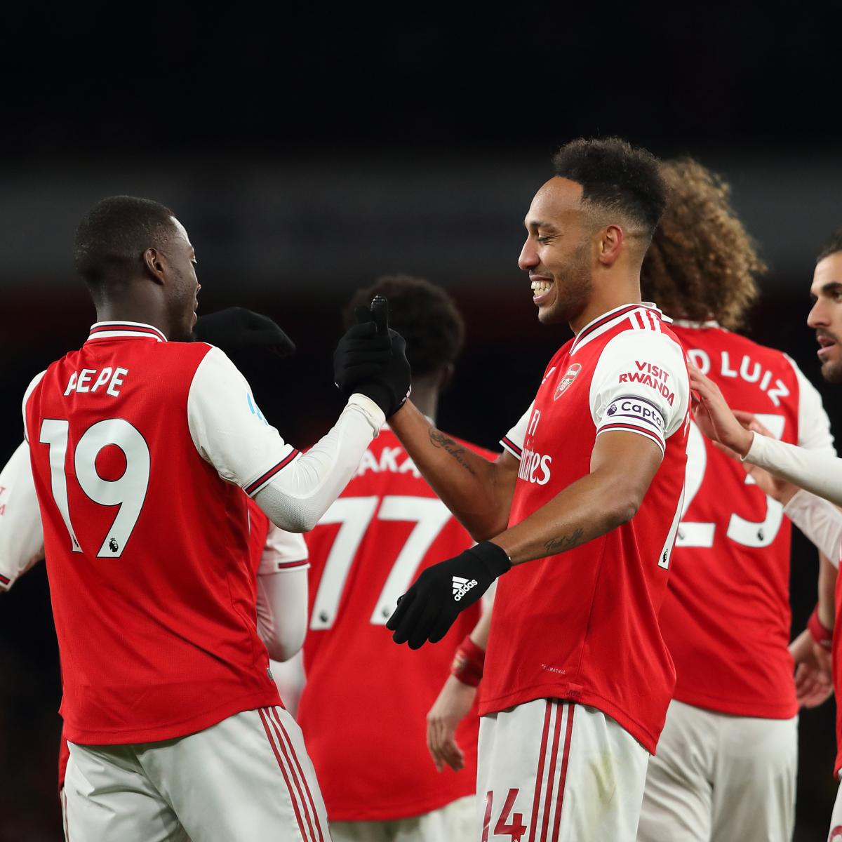 Pierre-Emerick Aubameyang, Arsenal Cruise Past Newcastle in 4-0 EPL Win
