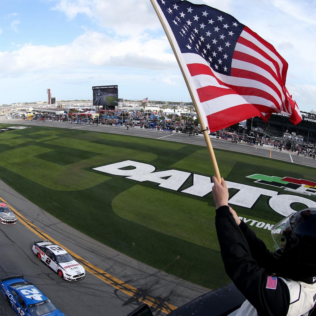 2020 Daytona 500: Start Time, TV Schedule, Odds, More for Postponed Race