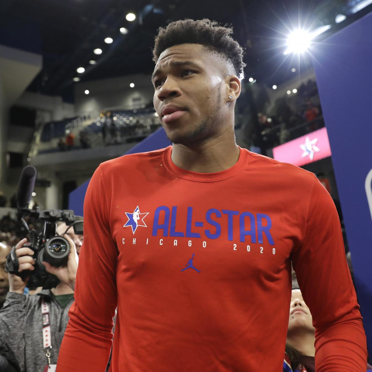 Giannis Antetokounmpo Says He Will Not Participate In Nba Dunk Contest In Future Bleacher Report Latest News Videos And Highlights
