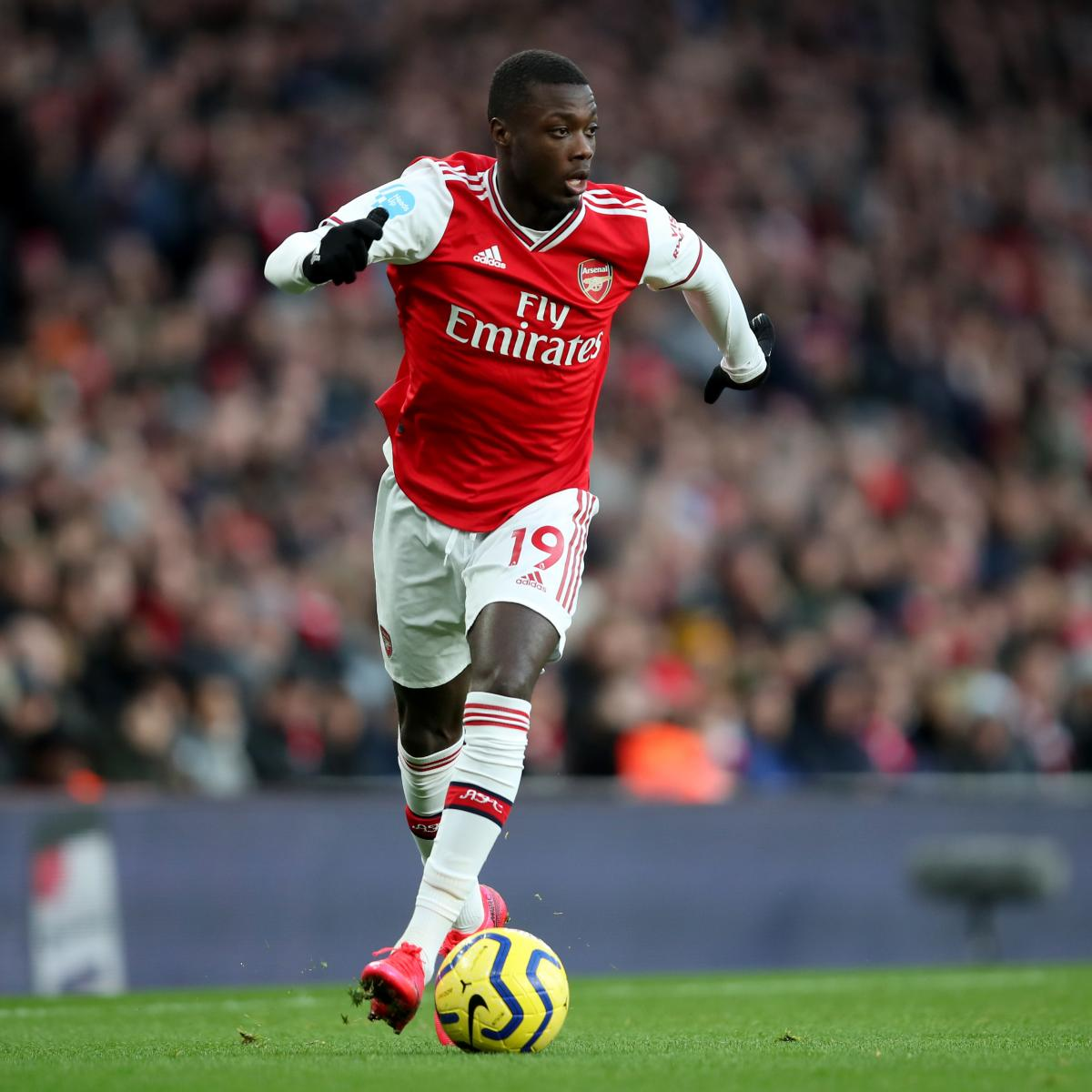 Alexandre Lacazette: Nicolas Pepe Gaining Confidence in World's 'Hardest League'