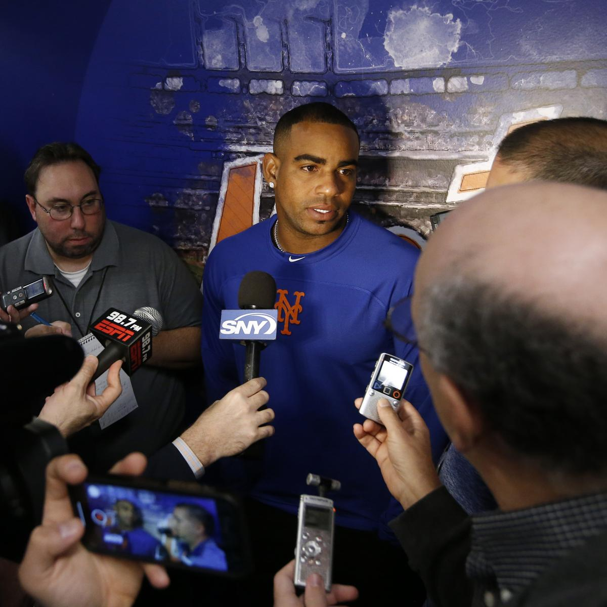 Mets Star Yoenis Cespedes Says He Won't Talk to the Media All Season